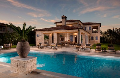 Detached stone villa with large pool, fully furnished
